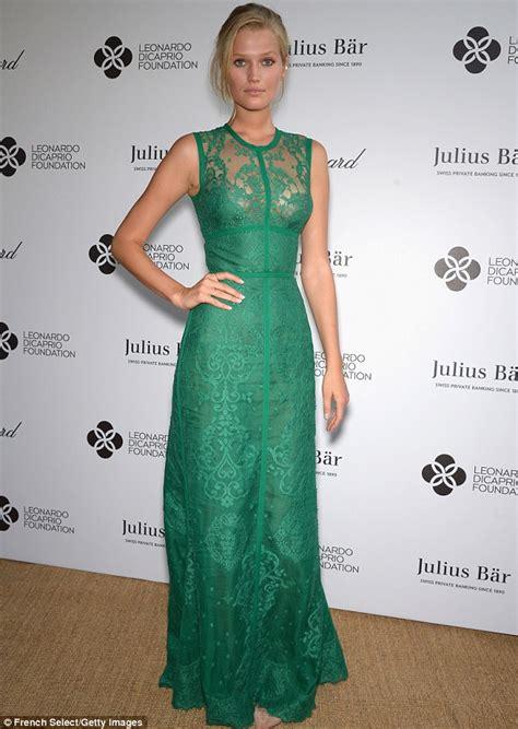 Green Tropez Gowv Dress selena gomez and cara delevingne light up leonardo