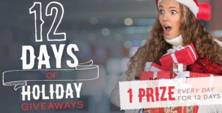 Free Canadian Giveaways - free brandpower 12 days of holiday giveaways free stuff finder canada