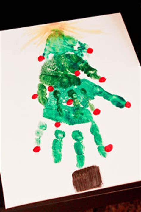 christmas tree crafts for preschool using handprint handprint crafts for