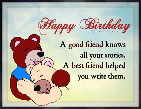 Birthday Quotes For A Best Friend Best Friend Birthday Quotes Quotes And Sayings