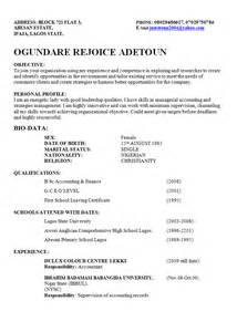 best way to write a curriculum vitae cv in nigeria