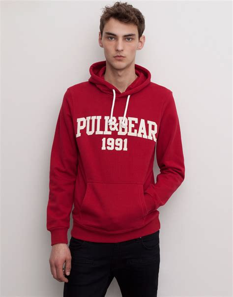 pull hooded sweatshirt in for lyst