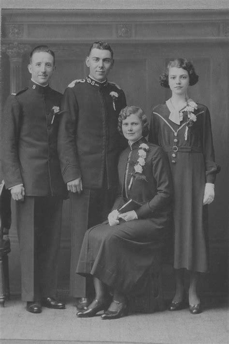 Salvation Army wedding, 1920 | This photograph illustrates