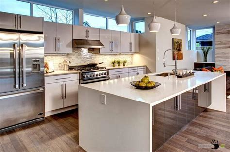 Big Kitchen Island Ideas 28 Big Kitchens With Islands Big Kitchen Island Home Decor Inspiration Pinterest 64
