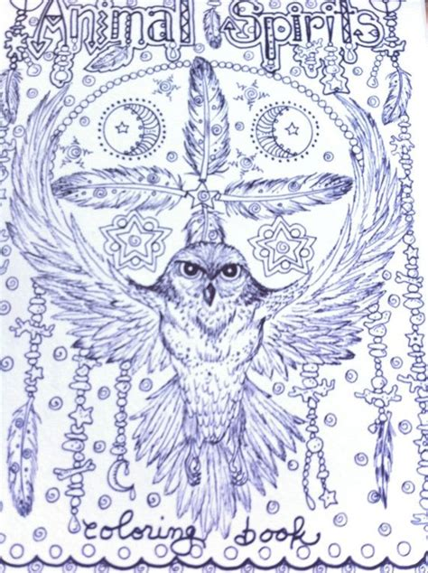 coloring pages of spirit animals animal spirits coloring book for you to color and be the