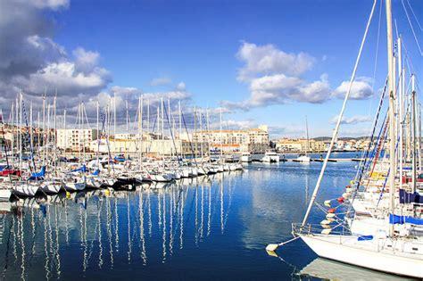 porto della francia porto di sete languedoc a sud della francia immagine