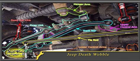 jeep death wobble allpro automotive  road