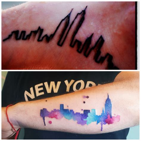 20 original tattoos for city dwellers new york new york