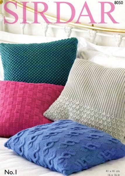 knitted cushion covers patterns uk cottontail crafts sirdar knitting pattern 8050