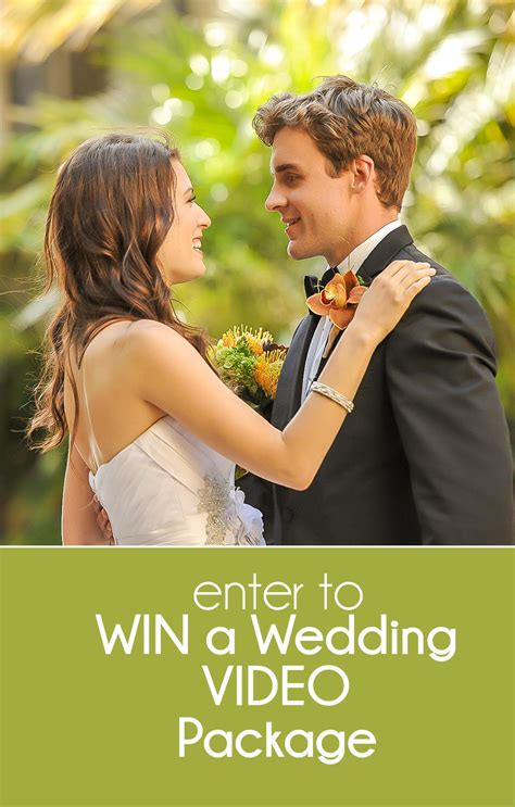 About Com Sweepstakes One Entry - enter to win this wedding video sweepstakes from nst pictures