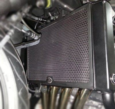 R G Radiator Guard Versys650 15up Black radiator guard for honda cbr650f and cb650f 2014 gt jesters trick bits limited