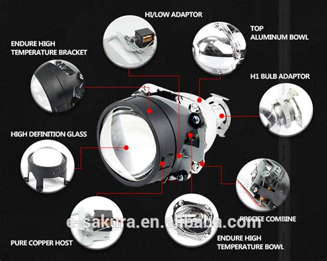 Shroud Projector G1 manufacturer in china aes g1 eye hid projector lens for projectors hid xenon l