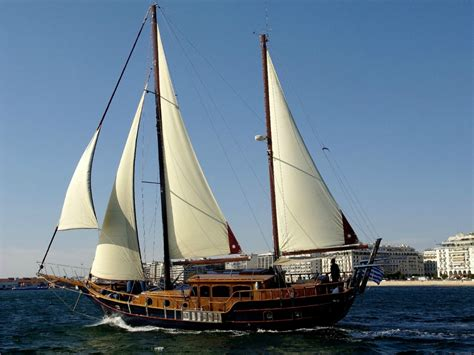 sailing boat information traditional wooden greek sailing boat instayacht
