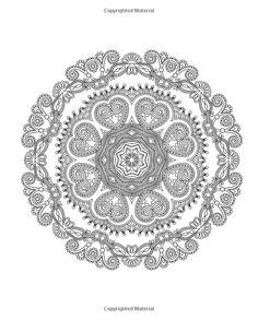 meditative mandala menagerie an advanced coloring book books 1000 images about zentangle mandala on