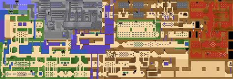 legend of zelda map quest 2 overworld outlands quest 1 overworld