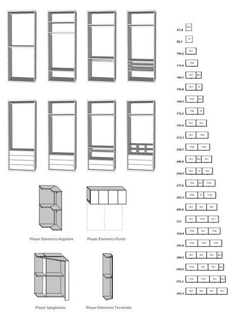 catalogo armadi componibili armadi battenti componibili su misura player attrezzature
