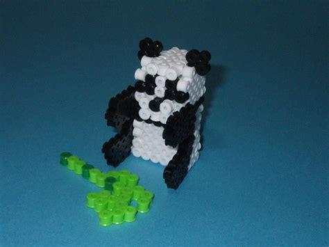 3d perler bead diy 3d panda perler photo tutorial perler