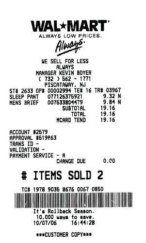 walmart receipt template walmart receipt maker receipt generator free