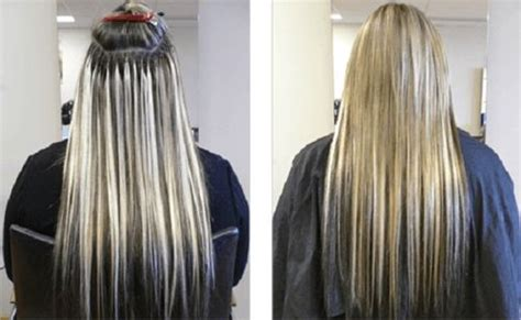 imagenes vectoriales y sus extensiones extensiones de cabello con keratina