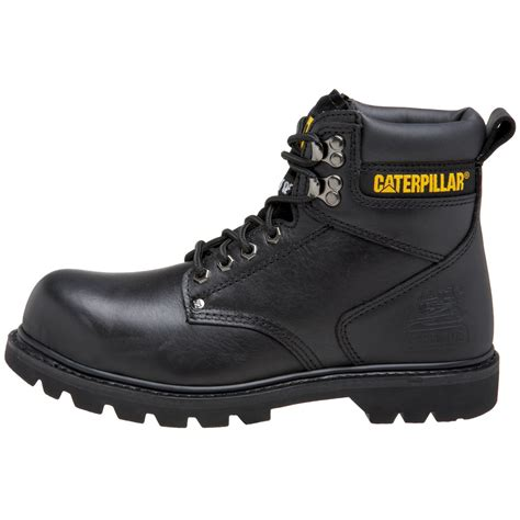 steel toe boots hiking journey adventure caterpillar s 2nd shift 6