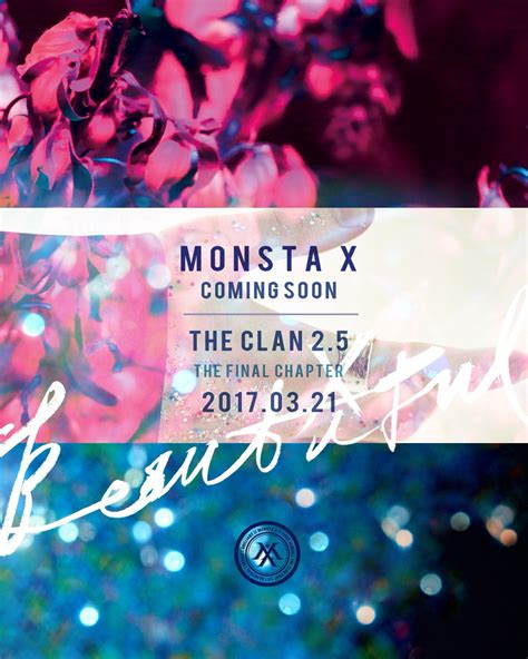 Monsta X The Clan Pt 25 Beautiful Album 1 monsta x say they re coming soon with the clan 2 5 the chapter allkpop