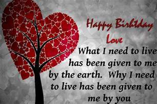 Love Quotes For Cards by Top 10 Love Birthday Quotes Happy Birthday Wishes