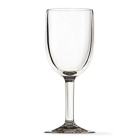 thick wine glasses premium quality thick walled plastic 12oz wine glass set