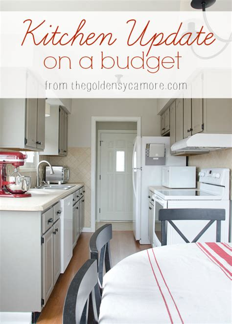 kitchen updates on a budget kitchen update on a budget the golden sycamore
