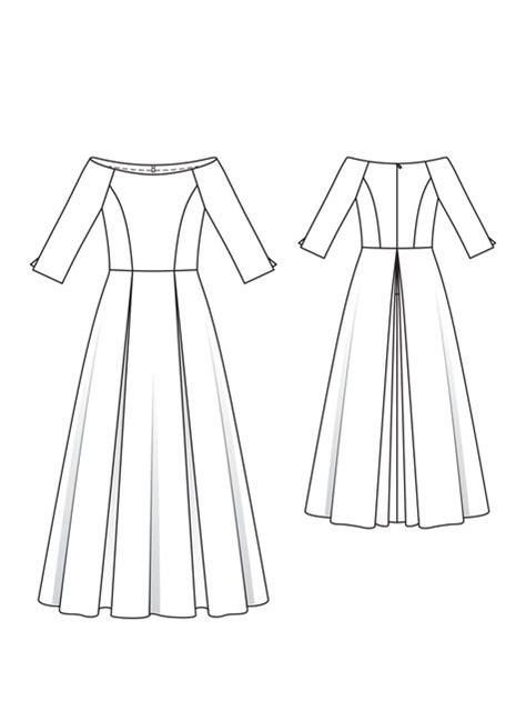dress template princess dress 03 2013 133 sewing patterns burdastyle