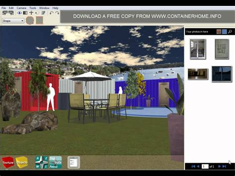 container home design software free shipping container home design software youtube