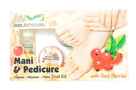 Harga Meni Pedi Cure by Golden Soft Touch Pedi Cure Trial Kit For Rs 650