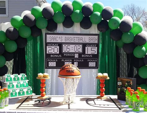 boston themed events boston celtics birthday quot isaac s basketball bash