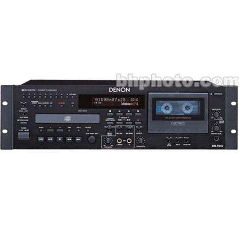 cd cassette player combo denon dnt645 rackmount cd and cassette combo player dn t645