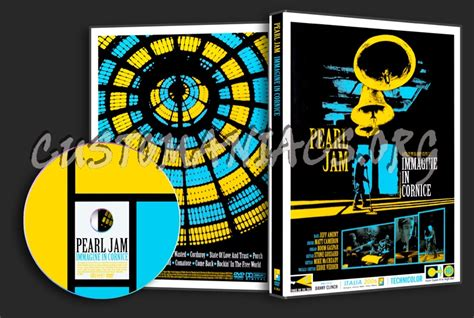 Pearl Jam Immagine In Cornice by Pearl Jam Live Immagine In Cornice Dvd Cover Dvd