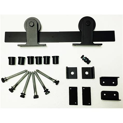 Agave Ironworks Rh021 5 Wrought Iron Rolling Track Barn Wrought Iron Barn Door Hardware