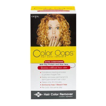 hair color remover walmart color hair color remover 1 0 kit walmart