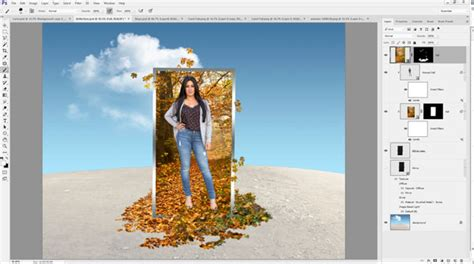 photoshop cs5 tutorial out of bounds photo effect take reflections out of bounds photoshop creative