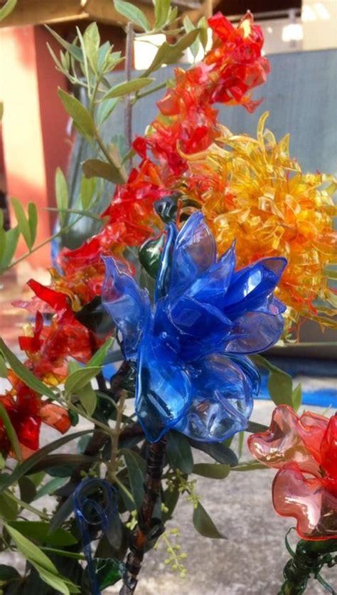 fiori plastica riciclata oltre 25 fantastiche idee su fiori di plastica su