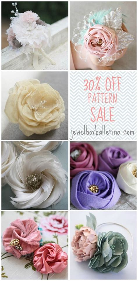 Handmade Fabric Flowers For Sale - 17 best images about handmade flower tutorials for