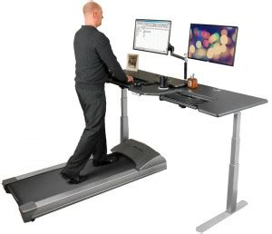 Walk While You Work With The Levine Treadmill Workstation by Treadmill Desk Base Comparison Review