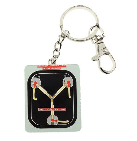 back to the future flux capacitor fuel back to the future metal keychain flux capacitor 7 cm for only c 13 41 at merchandisingplaza ca