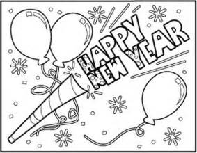 Coloring Pages For New Years happy new year coloring pages coloring home