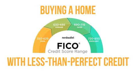 credit score required to buy a house how to buy a home with less than perfect credit trending home news