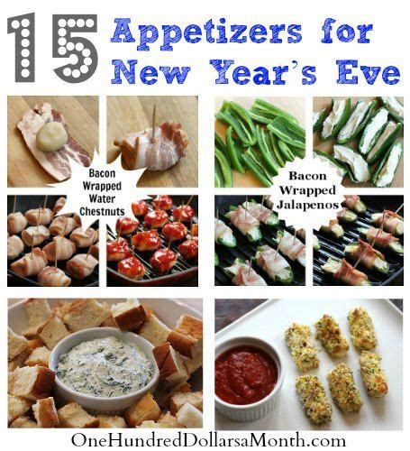 new year appetizer ideas 15 appetizers for new year s recipes appetizers