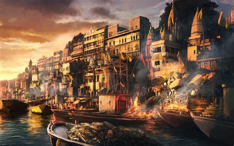 wallpaper abyss fantasy city city full hd wallpaper and background image 1920x1200