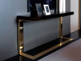 Modern Console Table Nella Vetrina Modern Italian Designer Makassar Wood Console