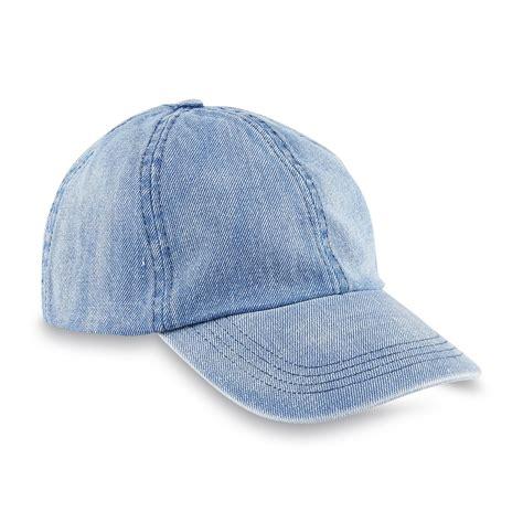 Denim Hat joe boxer s distressed denim baseball hat kmart