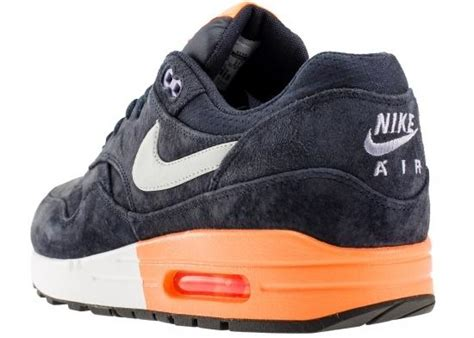 A Hint Of Purple Vol 3 nike air max 1 obsidian and atomic orange