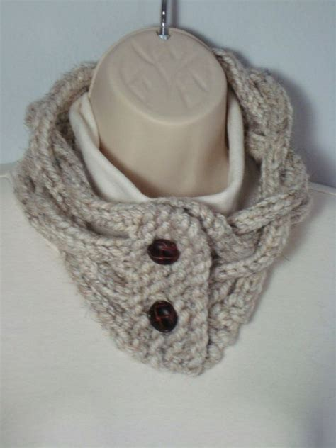 loom knit cowl neck scarf knit loom knitted cowl neck warmer scarves