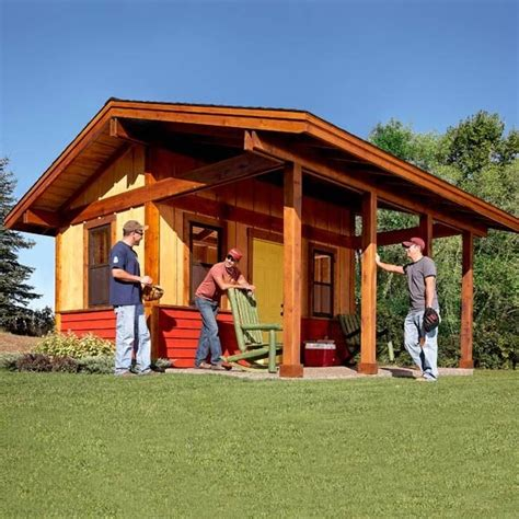 build  shed   front porch  family handyman